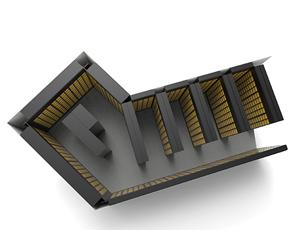 納骨壇 配置シミュレーション 共栄工業制作